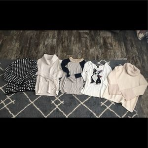 High end sweater bundle lot Small